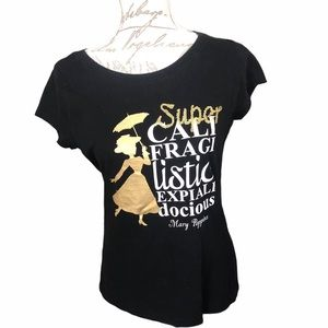 Disney Mary Poppins T shirt with Sequins